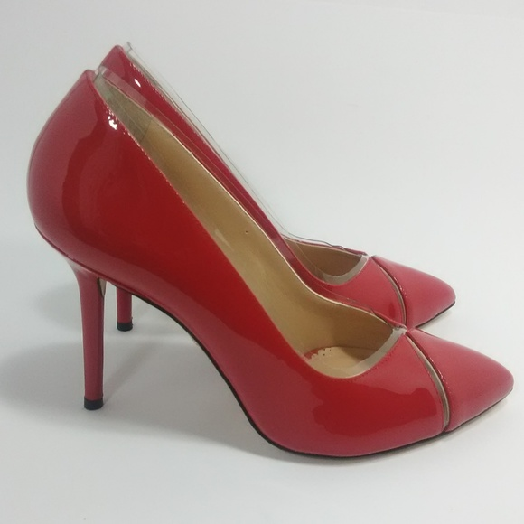 ae6ec20f1ad2 Charlotte Olympia Shoes | New Red Natalie Patent Pumps 36 | Poshmark